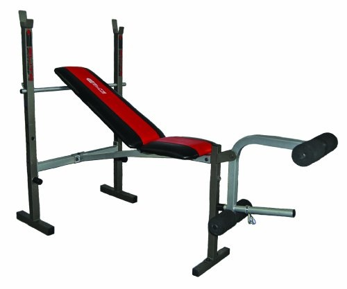 Buy Elite Fitness Deluxe Standard Weight Bench Ideal For Beginner To  Intermediate Lifters, The Elite