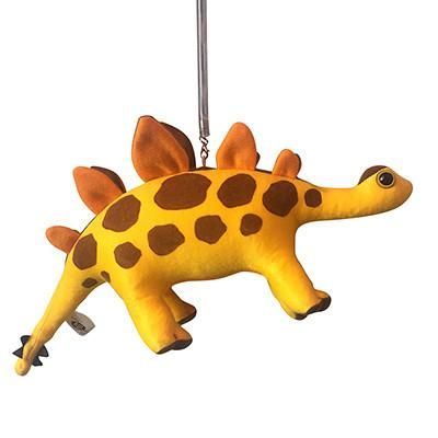 The first dinosaur in our hanging spring toy range. Check out his spikes! These animals are fixed to a metal...