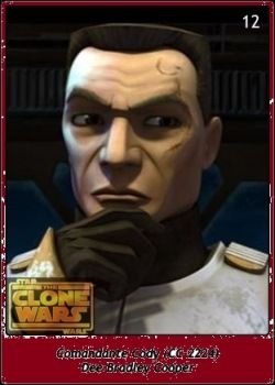 Comandante Cody / CC-2224 / Dee Bradley Cooper / Star Wars SW Cromos / The Clone Wars'