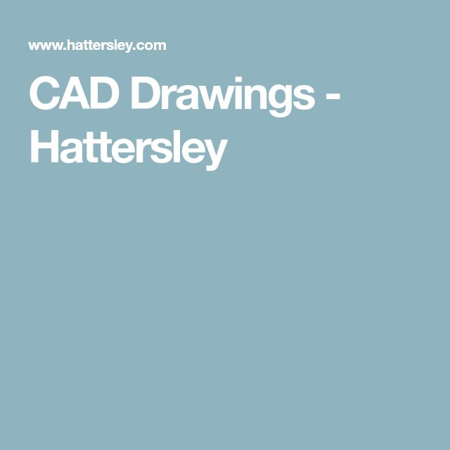 CAD Drawings - Hattersley
