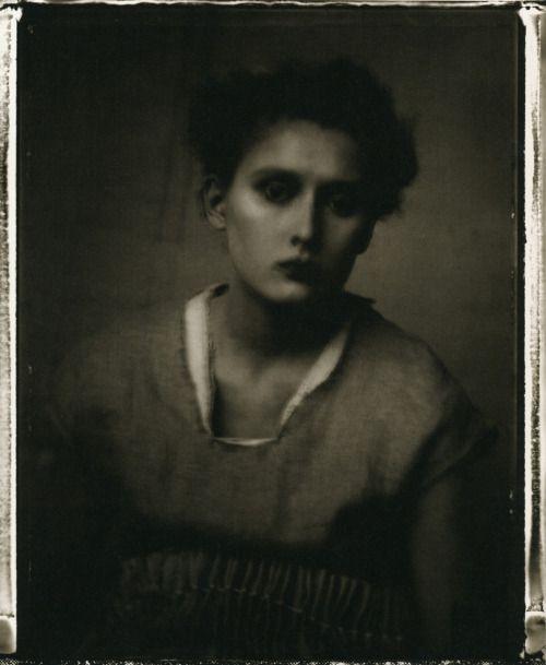 """felixinclusis: """"elina-astra: Photographer - Sarah Moon """""""