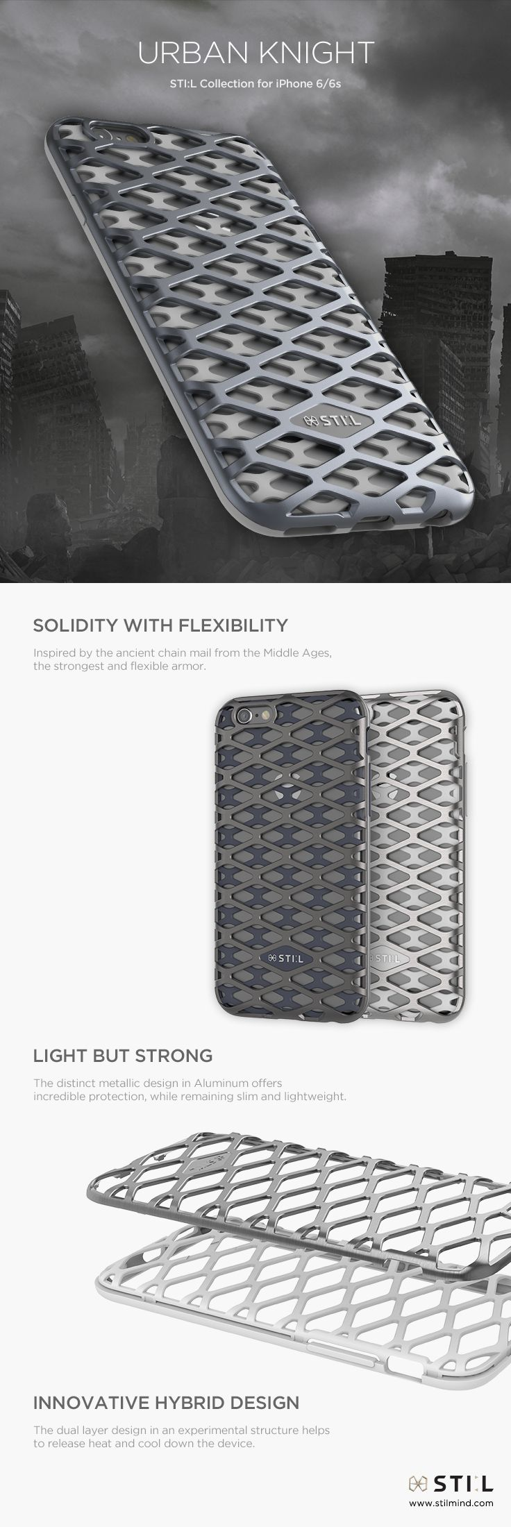 13 Best Iphone 8 Plus Cases Images On Pinterest I Phone Goospery Hybrid Dream Bumper Case Jet Black Urban Knight The Chain Mail In Middle Ages Strongest And Flexible