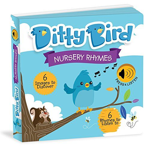 Ditty Bird Interactive Children's Book: Educational Illustrated Music Playing Singing Board Book for Babies & Toddlers - Electronic Push Button Nursery Rhymes. For price & product info go to: https://all4babies.co.business/ditty-bird-interactive-childrens-book-educational-illustrated-music-playing-singing-board-book-for-babies-toddlers-electronic-push-button-nursery-rhymes/