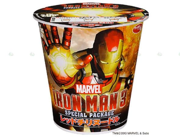 Sanyo Foods Plans to Release an Iron Man 3 Instant Soup in Japan #soup trendhunter.com