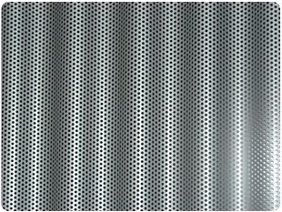 Chapa ondulada microperforada | Alucentro, SA - Materiales, sistemas, productos y soluciones para la envolvente del edificio