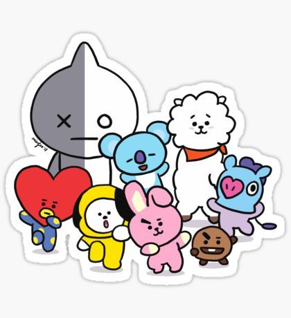 Peace | Sticker in 2019 | Bts drawings, Bts chibi