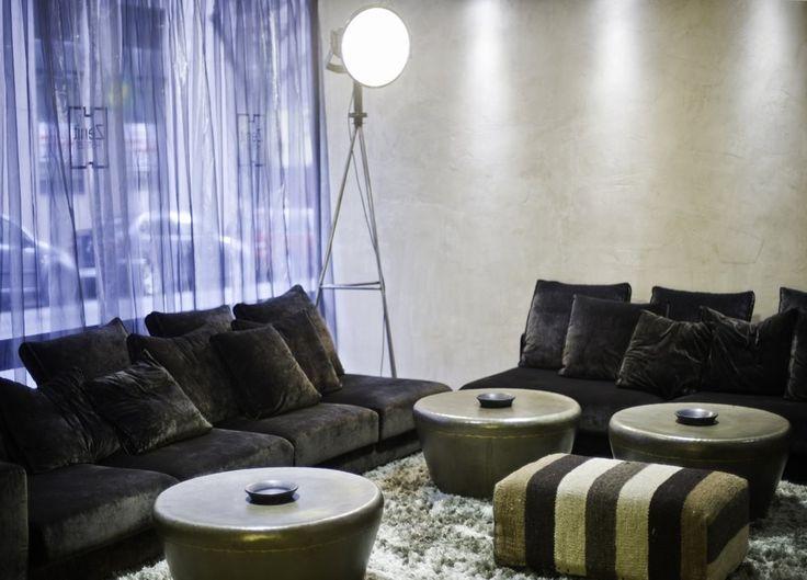 Zona común Hotel Zenit Abeba