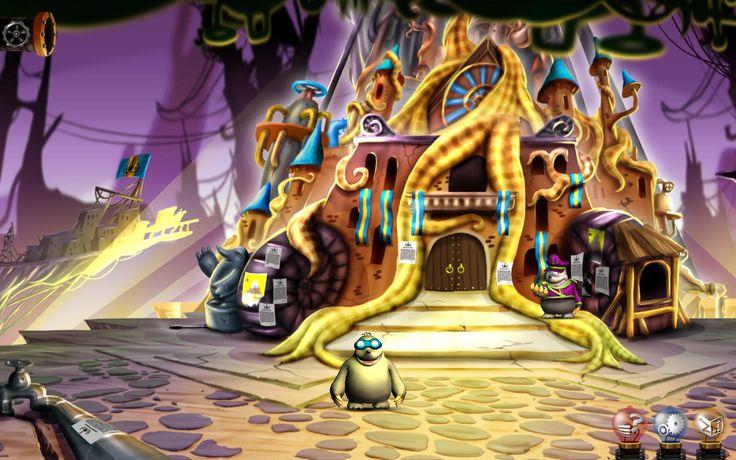 """Miasto SeKretów to klasyczna gra przygodowa typu """"Point and Click"""" przedstawiona w pięknej, ręcznie rysowanej grafice, warstwowych tłach i trójwymiarową obsadą, z w pełni udźwiękowionymi dialogami. Odkryj świat rewolucji, tajemnic i przygody, znajdź wskazówki i rozwiąż łamigłówki, by zdemaskować złowrogi spisek! Bohaterski pies Reksio i kret Kretes nie uratują miasta Pokopane bez Ciebie. www.aidemmedia.pl"""