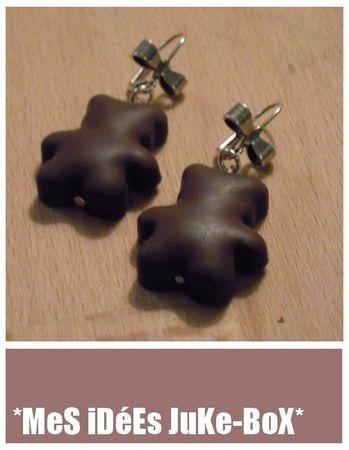 polymer earrings boucles d'oreilles en polymère  / fimo
