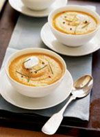 Winter Root Vegetable Soup #recipes