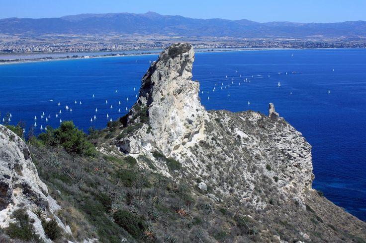 Sella del diavolo e spiaggia del Poetto - Cagliari
