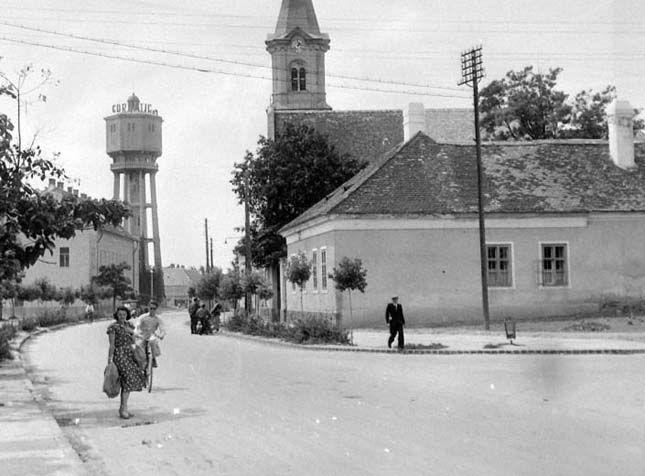 Siófok, Fő tér, 1948.