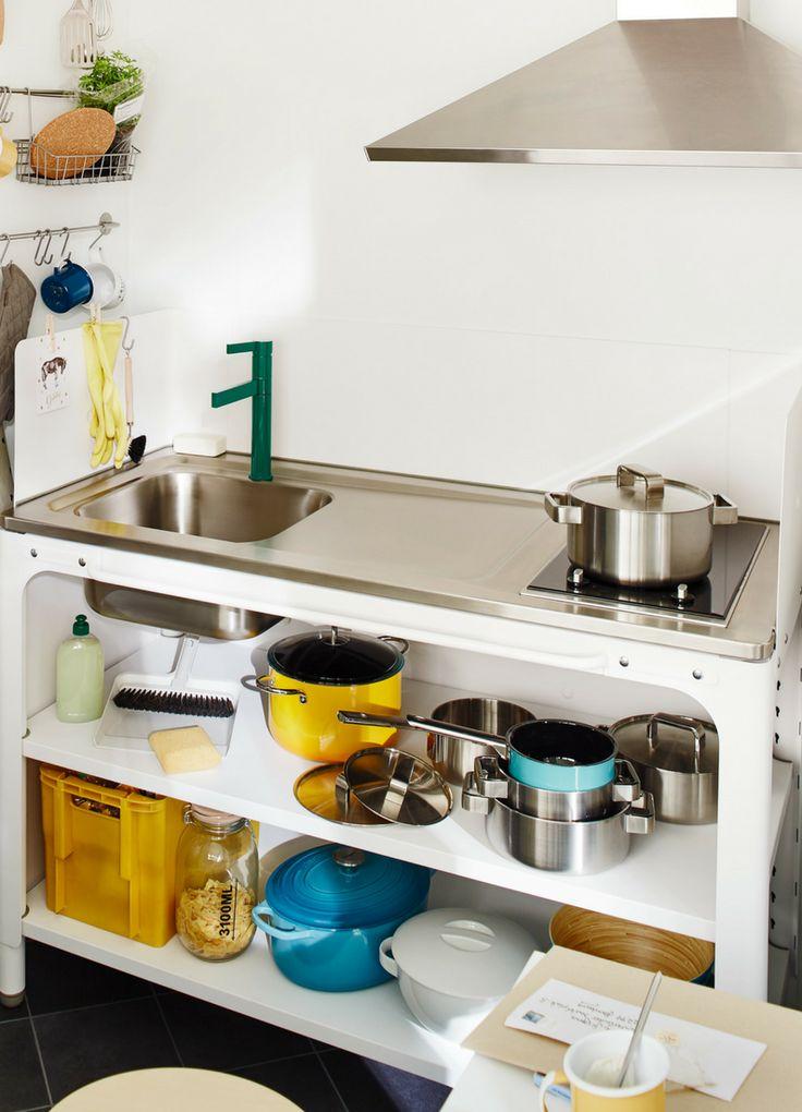 Küchenzeile Maße: Wie hoch, wie lang, wie tief sollte eine ...