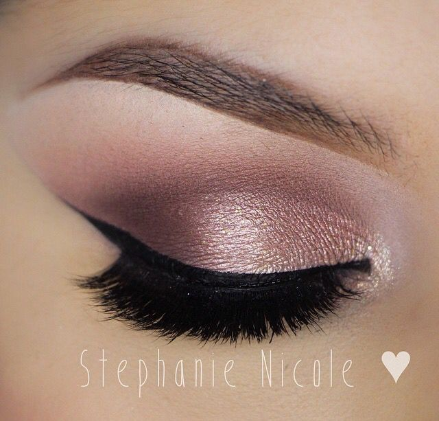 {rose gold @muastephanienicole}