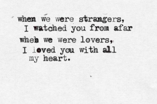 Typewritten lyrics. Harvest Moon by Neil Young.