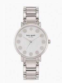 gramercy silver dot by kate spade new york
