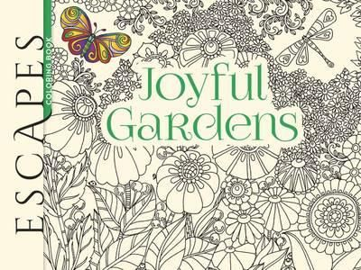 ESCAPES Joyful Gardens Coloring Book By Angela Porter Available At Depository With Free Delivery Worldwide