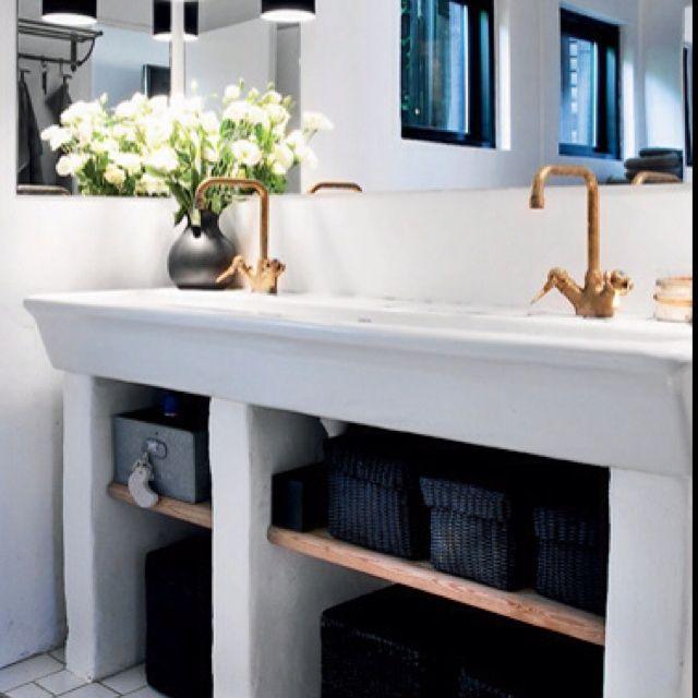 bathroom ideas - http://yourshabbychicdecorideas.com/?p=2307 - #home_decor_ideas #home_decor #home_ideas #home_decorating #bedroom #living_room #kitchen #bathroom #pantry_ideas #floor #furniture #vintage #shabby