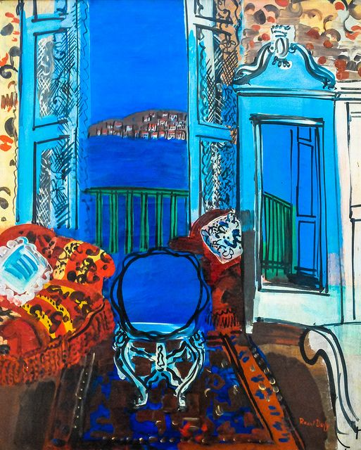 Raoul Dufy - Open Window