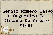 http://tecnoautos.com/wp-content/uploads/imagenes/tendencias/thumbs/sergio-romero-salvo-a-argentina-de-disparo-de-arturo-vidal.jpg Sergio Romero. Sergio Romero salvó a Argentina de disparo de Arturo Vidal, Enlaces, Imágenes, Videos y Tweets - http://tecnoautos.com/actualidad/sergio-romero-sergio-romero-salvo-a-argentina-de-disparo-de-arturo-vidal/