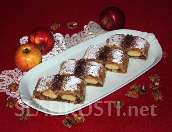 Alenčin závin s pudinkovými jablky