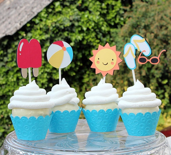 Cute for kid's summer birthday party at our pool!
