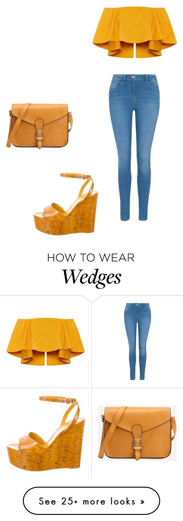 """School outfit"" by hairstylinghippo on Polyvore featuring George and Sergio Rossi"