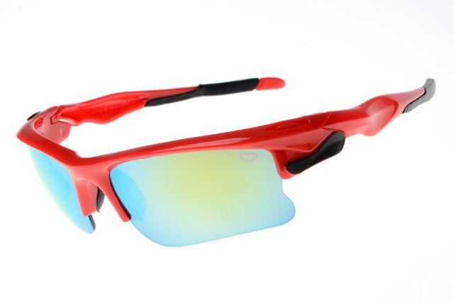 Oakley Fast Jacket Semi-Rimless Red BAZ