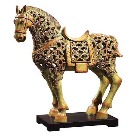 I pinned this Regalia Horse Statuette from the Uttermost event at Joss and Main!