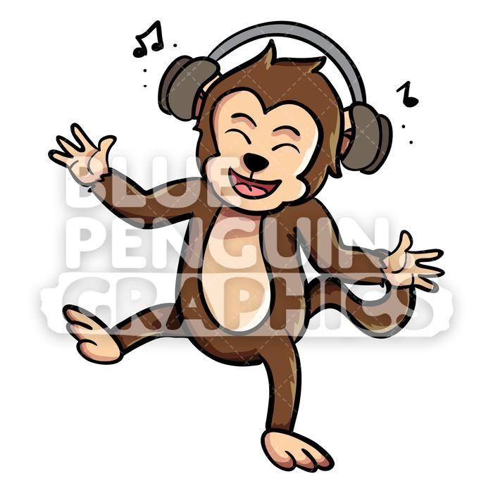 23++ Listening to music cartoon clipart info