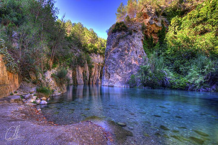 Piscinas Naturales Fuente de los Baños, Montanejos (Castellón) Spain