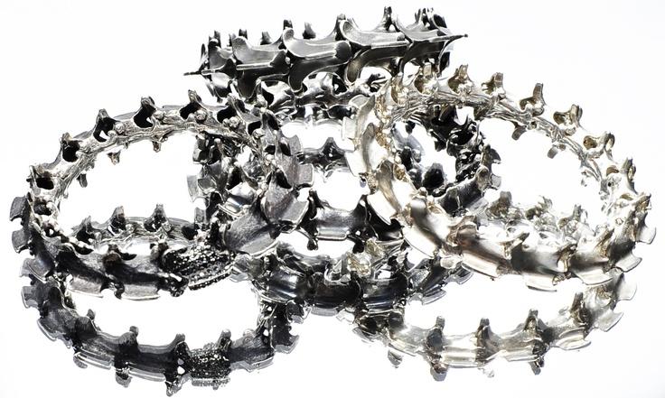 My Silver Spinal Bangles