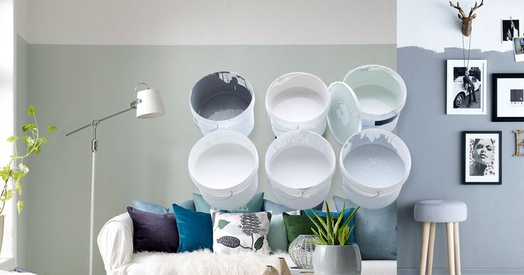 Ge dina väggar en ny färg eller ett nytt mönster. Inspireras av våra tips och råd.