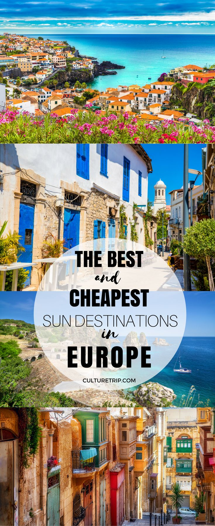 The Best and Cheapest Winter Sun Destinations in Europe|Pinterest: theculturetrip