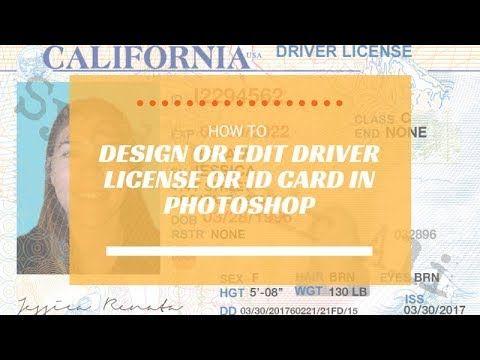 Edit n Design Driver License, ID Card, Passport, SSN Card, Utility Bill,...