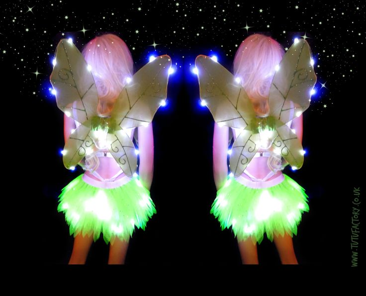 light up tinkerbell tutu light up tinkerbell wings fancy dress costume