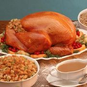 Turkey is an excellent choice for a Thanksgiving or Christmas dinner--one large turkey can feed a room full of people. The rule of thumb on what size bird to buy is a pound of turkey for each person you need to feed. If you are having 20 guests for dinner, you need a 20-lb. turkey.**Let eHow help you with your Thanksgiving turkey meal. [Get the...