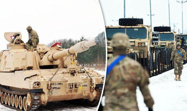 Rund 4.000 amerikanische Soldaten trafen am Wochenende mit Panzern, Artillerie und gepanzerten Fahrzeugen in Polen ein. Kurz vor der Amtseinführung des designierten amerikanischen Präsidenten Donal…