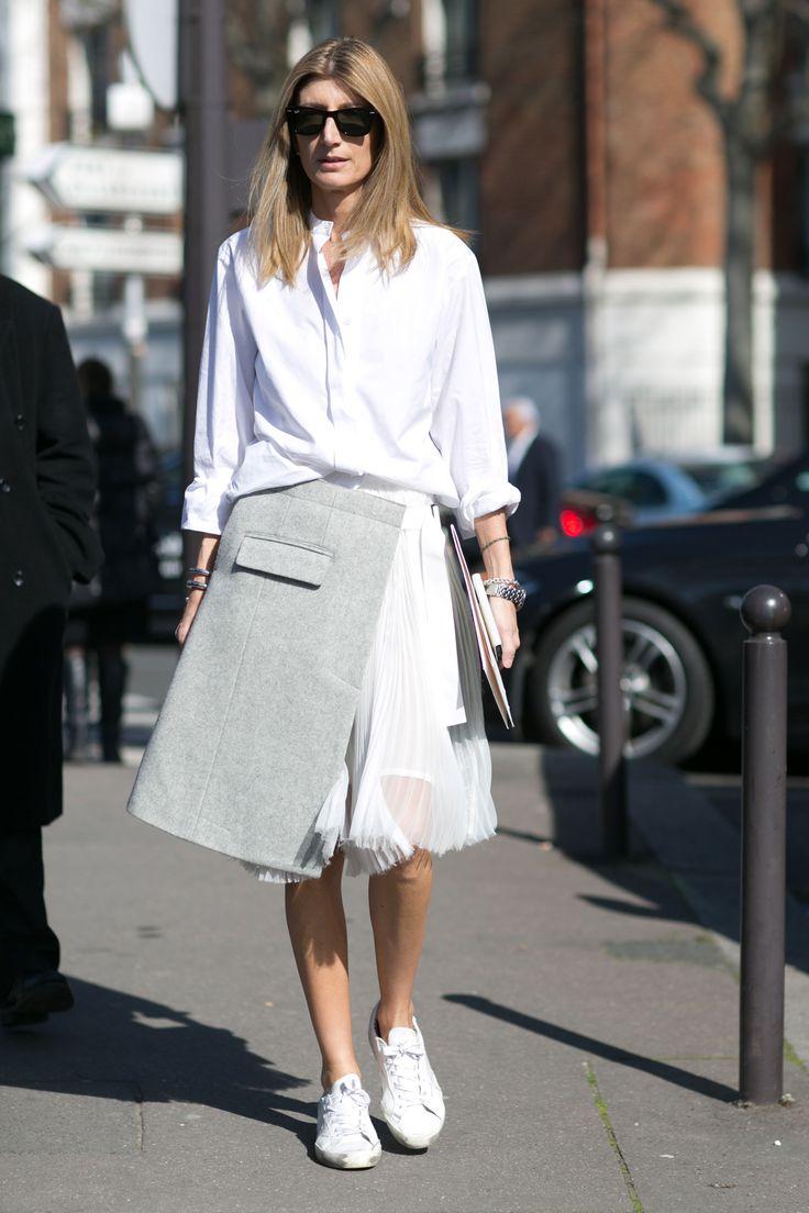 Street fashion: Paris Fashion Week jesień-zima 2015/2016, fot.Imaxtree