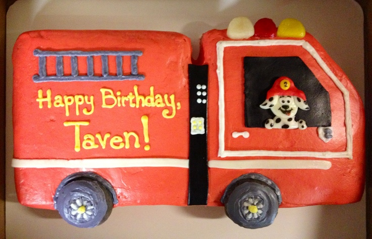 Truck Birthday Cakes For Boys