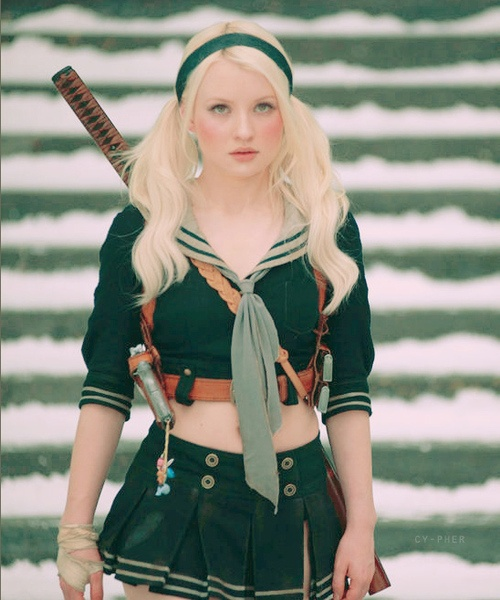 You can put Baby Doll in my corner.: Emilybrown, Babies, Suckerpunch, Sucker Punch, Halloween Costumes, Action Movies, Baby Dolls, Emily Browning, Sweet Peas