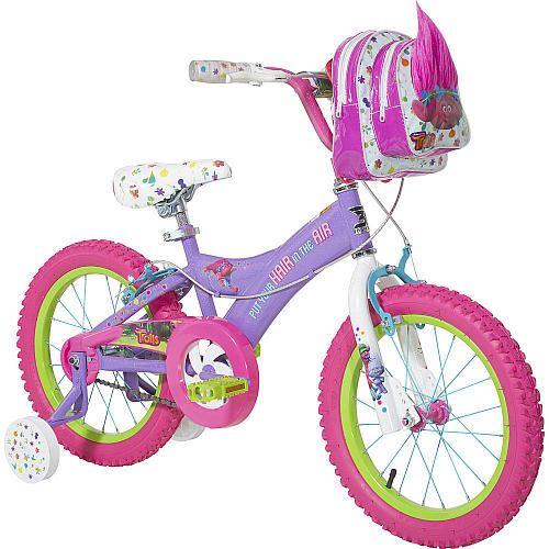 """Girls 16 inch Dynacraft DreamWorks Trolls Bike - Toys""""R""""Us"""