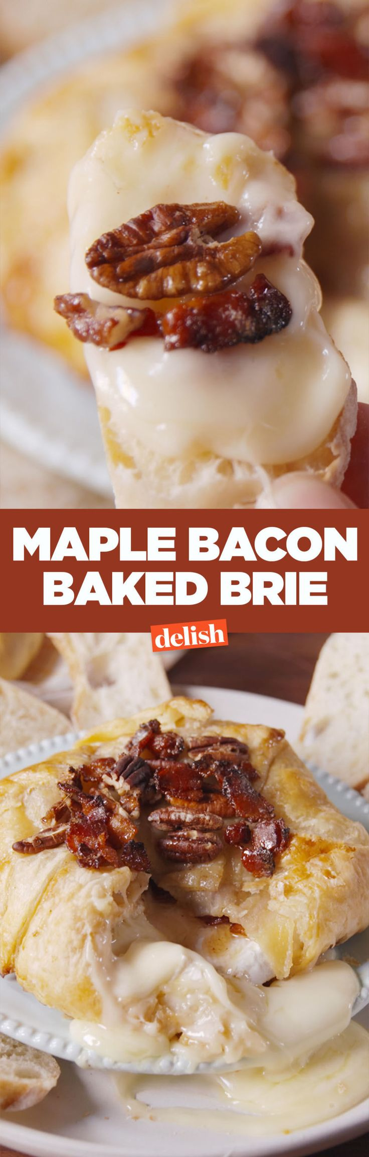 Maple Bacon Brie Turns Your Basic Brie Into Fall Magic
