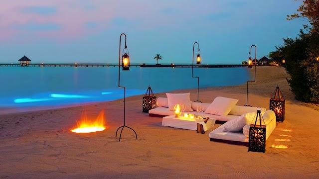 .: Resorts Spa, Favorite Places, Beaches Rooms, Exotic Resorts, Beaches Parties, Taj Exotica, The Maldives, Honeymoons, Beaches Bonfires