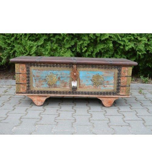Indyjska #drewnianaskrzynia Model: HS-16-004 @ 772 zł. Zamówienie online: http://goo.gl/jzPJ7E