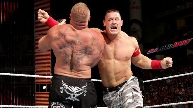 John Cena vs. Brock Lesnar – WWE World Heavyweight Championship Match: photos | WWE.com