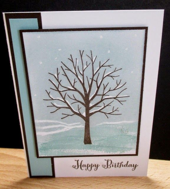 Stamp & Scrap with Frenchie: Sheltering Tree For Masculine Monday