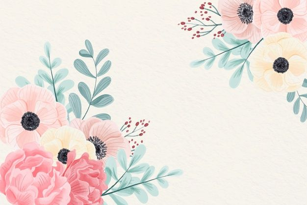 Download Watercolor Flowers Background In Pastel Colors For Free Watercolor Flowers Background Watercolor Flower Background Watercolor Flowers Coolest pastel color flower wallpaper