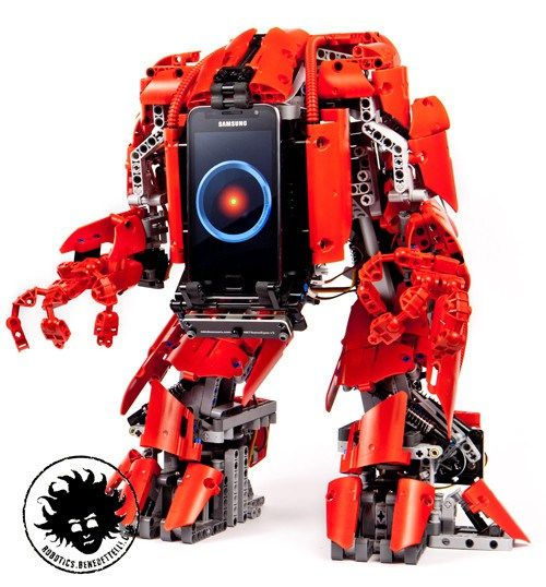 Mindstorms Cyclops Robot Controlled by Exo-Suit | The Brothers Brick | LEGO Blog