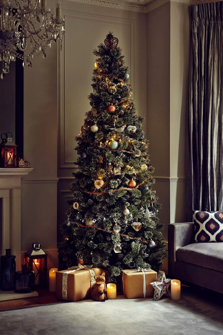 Opulent and beautiful is this Christmas tree